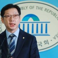 """'정면돌파' 김경수 """"이 시간부로 경남지사 선거 임할 것""""(상보)"""