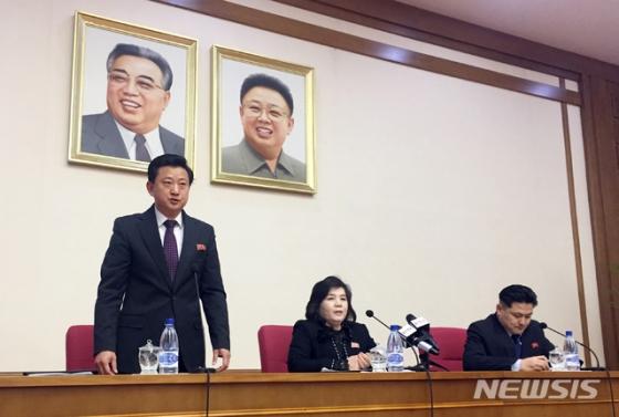 """北 최선희 """"트럼프 제재해제 용의, 볼턴·폼페이오 반대""""(전문)"""