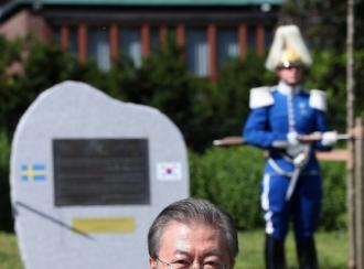 북미 협상장소 스웨덴 유력…文 6월 스톡홀름 연설 재조명
