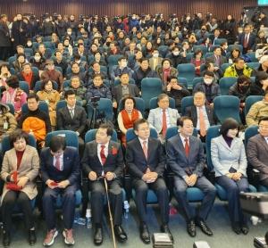 [300포토]미래한국당 창당대회에 참석한 황교안 대표
